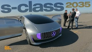 Autonomous Driving with the Mercedes F015 Research Vehicle (German & partially English)