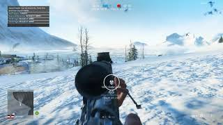 BFV Sniper counting kills