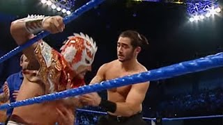 Ultimo Dragon, Rey Mysterio, & Billy Kidman vs. Tajiri, Akio, & Sakoda: SmackDown, March 4, 2004 width=