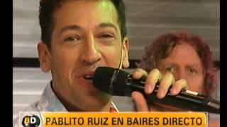 """Pablito Ruiz canta """"Oh mamá, ella me ha besado"""" - Telefe Noticias"""