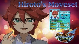 Hiroto's Moveset In Inazuma Eleven Go Strikers 2013
