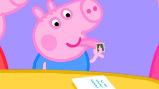 Peppa Pig Official Channel | George Pig Uses Grandpa Pig's Rare Stamp Collection