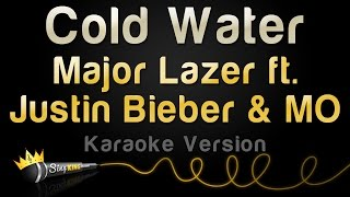 Major Lazer ft. Justin Bieber & MØ - Cold Water (Karaoke Version)