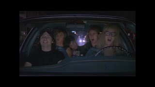'Bohemian Rhapsody' scene from Wayne's World Movie. #BoRhap40