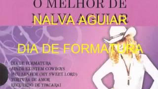 NALVA AGUIAR -  DIA DE FORMATURA