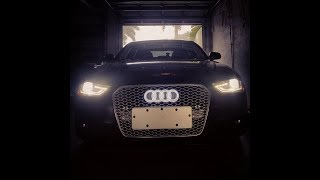 How to remove the front grille on a b8 5 audi s4 or a4