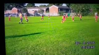 Onward vs Olton 3-6 goals u10's football 30.8.16