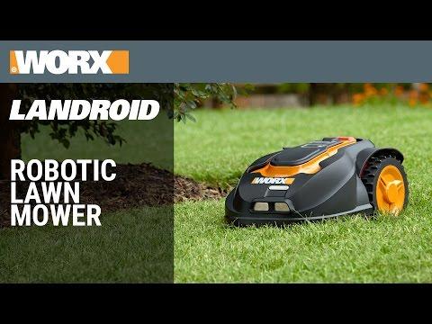 WORX Landroid M – Cordless 28V MaxLithium 7″ Robotic Lawn Mower