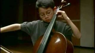 Nathan Chan, cellist, plays The Swan by Camille Saint Saens