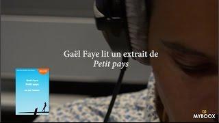 """Gaël Faye lit un extrait de """"Petit pays"""" (Audiolib)"""