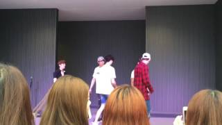 HISTORY(히스토리) - might just die(mistake) 160622 at lalaport TACHIKAWA 2部
