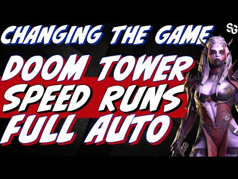 DT waves SPEED RUNS full auto *MUST SEE* you can do this | Raid Shadow Legends