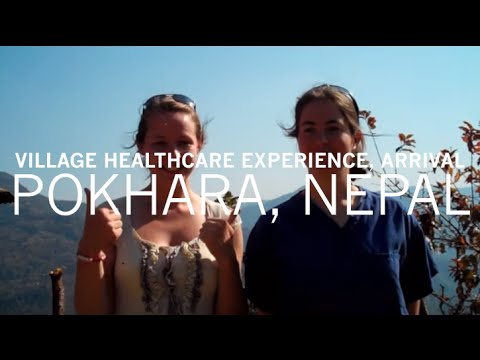 Nepal Village Experience with Nina and Sally – Arrival