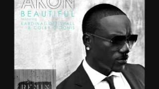Beautiful Techno Remix - Akon