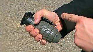 Airsoft Sound Grenade Test