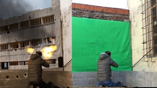 Green screen compositing and color matching -