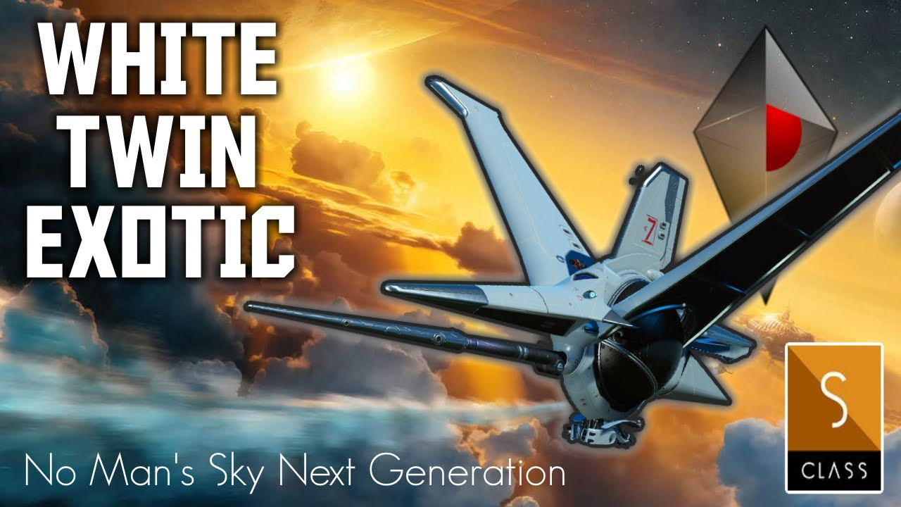 Manic Miners - No Man's Sky Next Generation - White Twin Fin Exotic Starship Location - Finding Exotic Ships 2020
