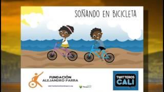 """""""Soñando en bicicleta"""", una campaña por las poblaciones más vulnerables [Noticias] - TeleMedellin"""