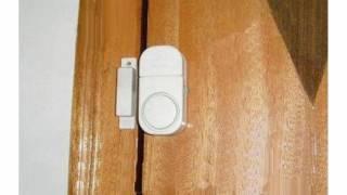 Wer Brand New - pack de 2 de doble puerta y ventana Entrada alarma -