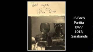 Olivier Doise, JS Bach Partita for Oboe BWV 1013