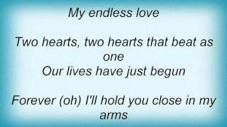 Lionel Richie - Endless Love Lyrics