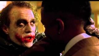 "The Dark Knight: ""Why so serious"" scene HD"