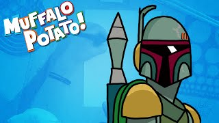 How to Draw BOBA FETT from STAR WARS with Muffalo Potato