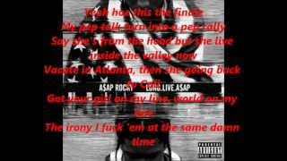 A$AP Rocky - Fuckin' Problem [ Lyrics ]