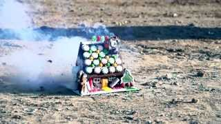 Exploding Gingerbread Houses