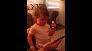 "Abby watching the Muppets do ""Bohemian Rhapsody"""