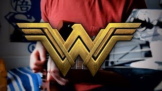 Wonder Woman Theme (Batman v Superman) on Guitar + TAB