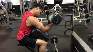 Biceps and Triceps Workout - Young Reek Fitness