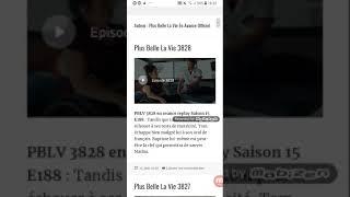 Plus Belle La Vie En Avance Episode 3828
