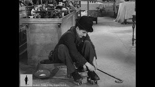 Charlie Chaplin - Modern Times - Roller Skating Scene