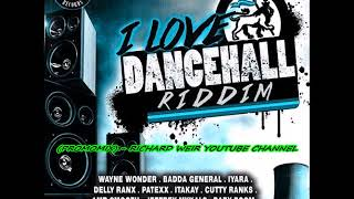 I Love Dancehall Riddim (Mix-Feb 2018) Real Squad Records width=
