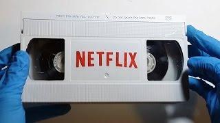 Netflix VHS Tape