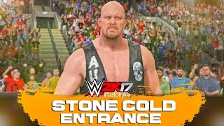 WWE 2K17 Stone Cold Steve Austin Entrance