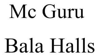 Mc Guru  Bala Halls 2014 Deejay Felipe do Cdc
