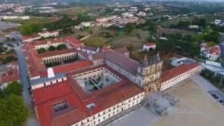 Phantom 4 Drone over Alcobaça, Portugal