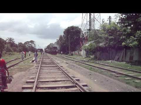 Bangladesh Railway G.Ghat Bound Madhumati Intercity Express.MP4