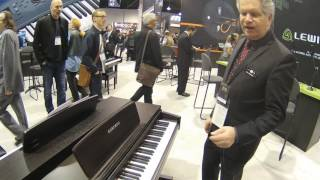 NAMM 2017 Kurzweil Home Pianos