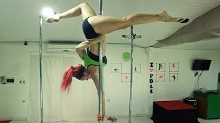 Ximena Perez • Pole dance • (Seal - It's A Man's Man's Man's World)