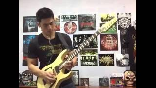 Bullet for My Valentine - Raising Hell (Guitar Solo Cover)