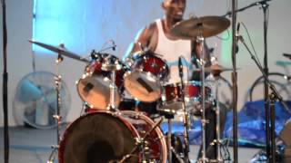 076 Cedric Burnside Drum Solo Live at the @LevittShell