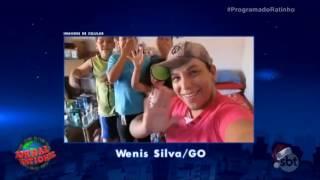 Piada participação programa do ratinho video VC  No Ratinho Wenis Silva Santa Helena GO