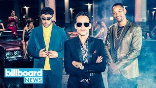 Marc Anthony, Will Smith & Bad Bunny Making Dreams Come True W/New Song 'Está Rico' | Billboard News