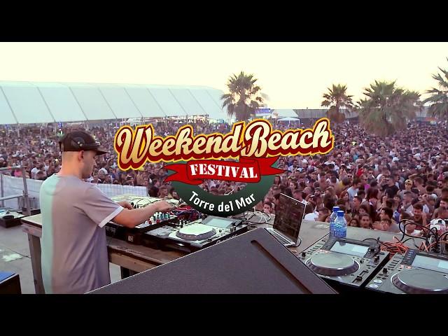 Video de Cuartero en Weekend Beach Festival 2017