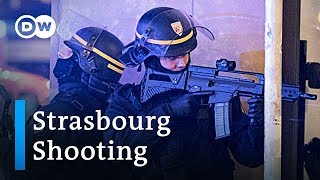 Manhunt under way after shooting at Strasbourg christmas market | DW News