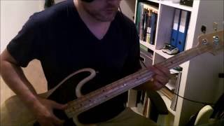 Red Hot Chili Peppers - Goodbye Angels - Slap Bass Tutorial