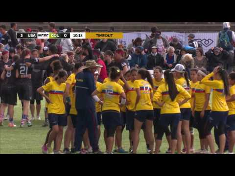 Video Thumbnail: 2016 World Ultimate Championships, Women's Gold Medal Game: USA vs. Colombia